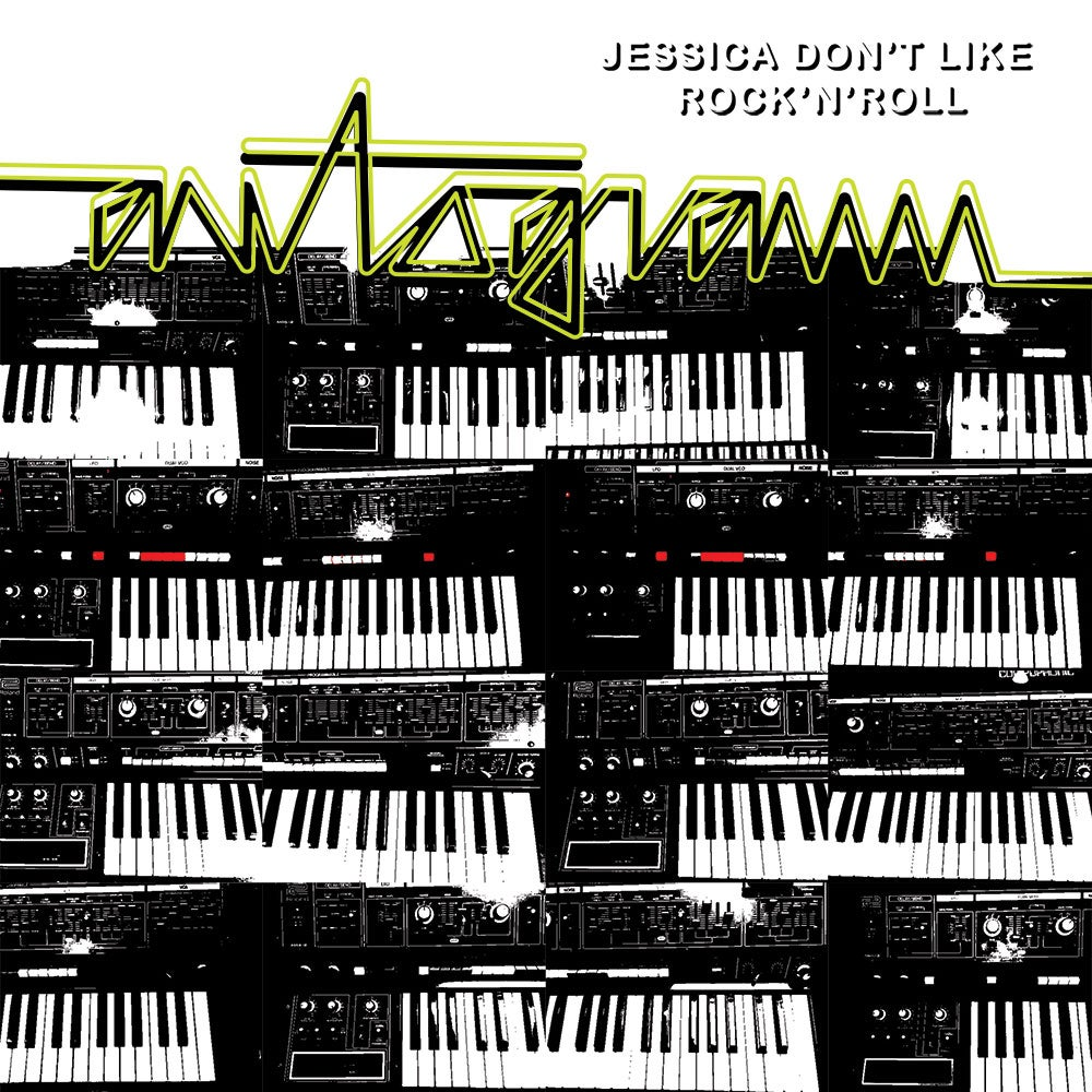 Image of AUTOGRAMM - JESSICA DON'T LIKE ROCK'N'ROLL