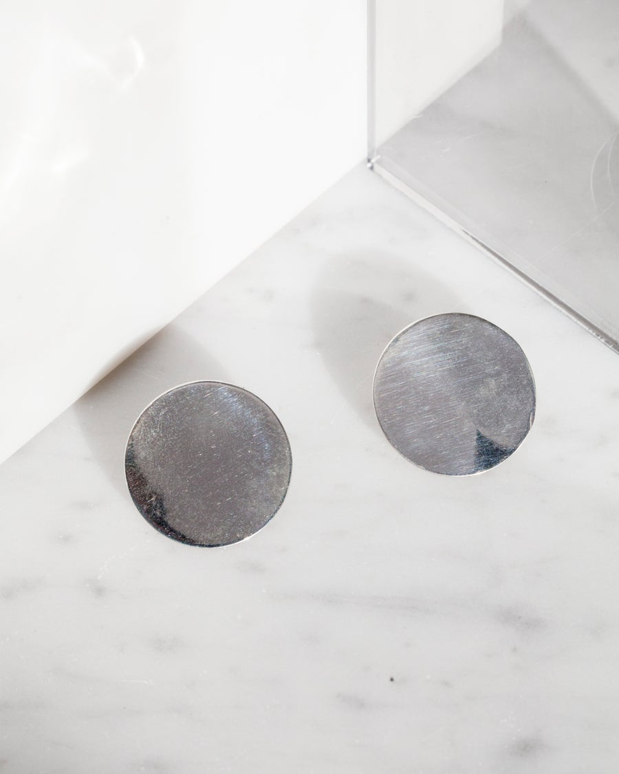 Image of Disc Earrings