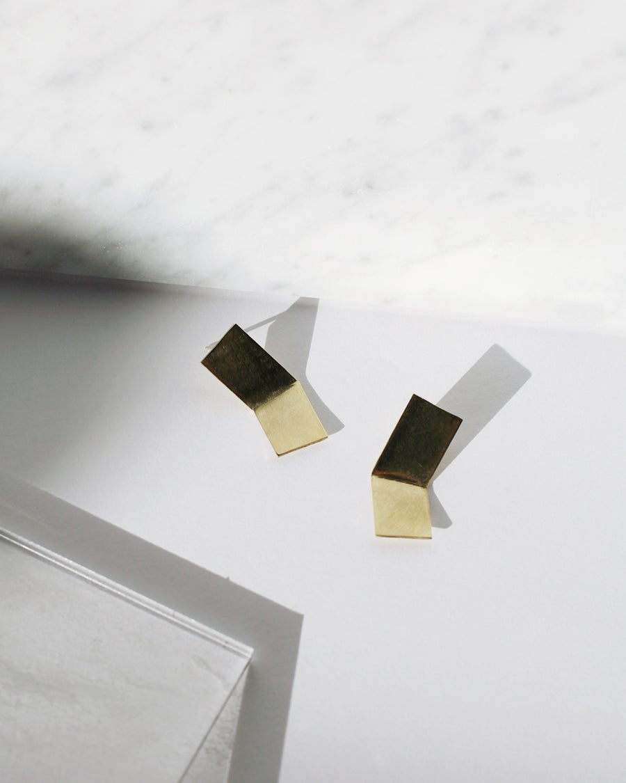 Image of Angled Earrings