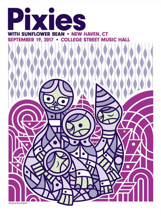 Image of Pixies New Haven, CT Poster