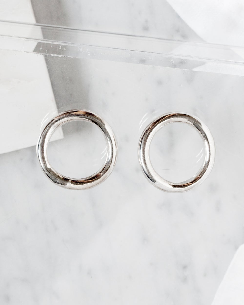 Image of Circle Hoop Earrings