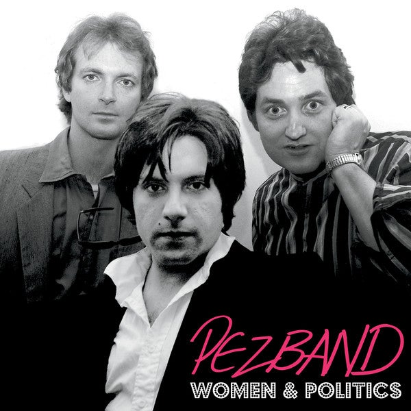 "Image of Pezband 'Women & Politics' 12"" 45rpm EP (Frodis FRO-003, 2016)"