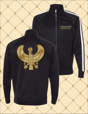 Image of MEN'S & WOMEN'S GOLD HRU TRACK JACKET