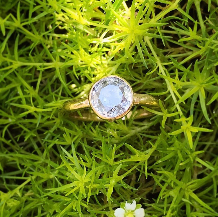 Image of Rose Cut Diamond Ring