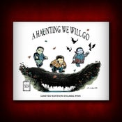 "Image of The Skelton Crew Collection: Limited Edition ""A Haunting We Will Go"" Pin Set!"