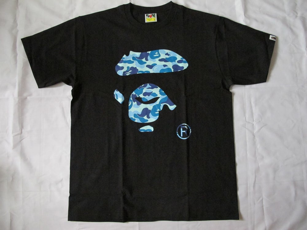 Image of  A Bathing Ape (Bape) - Logo Tee (Black)