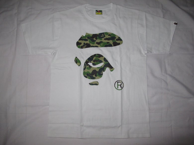 Image of A Bathing Ape (Bape) - Logo Tee (White)