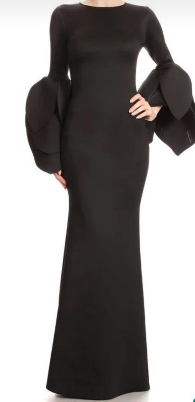 Image of All sleeve dress long