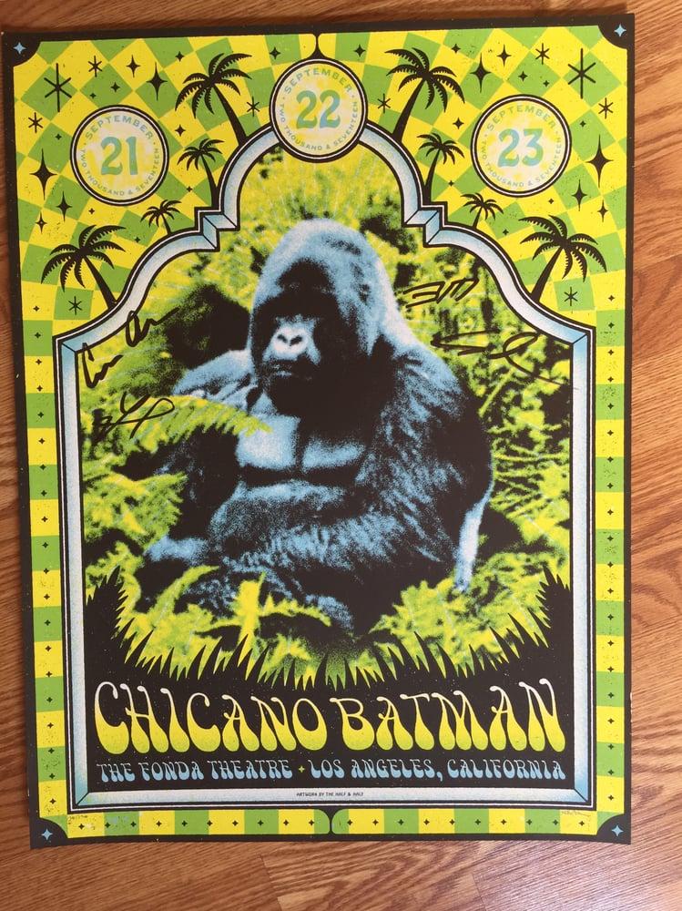 Image of Fonda Theatre Poster (Autograph)