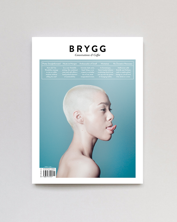 Image of BRYGG Magazine 01/16 cover 2/2