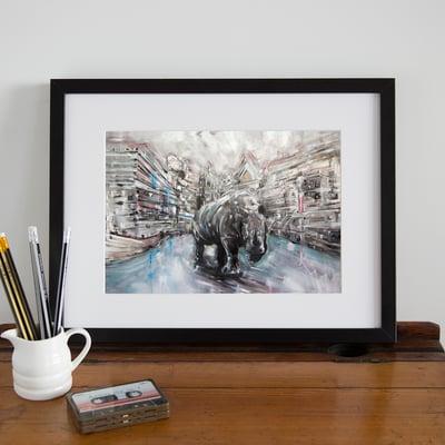 Image of Rhino Print