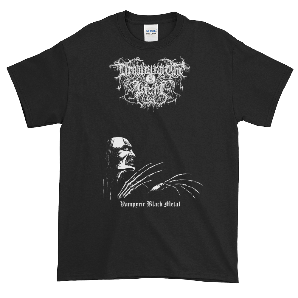 "Image of Drowning the Light - ""Vampyric Black Metal"" shirt"