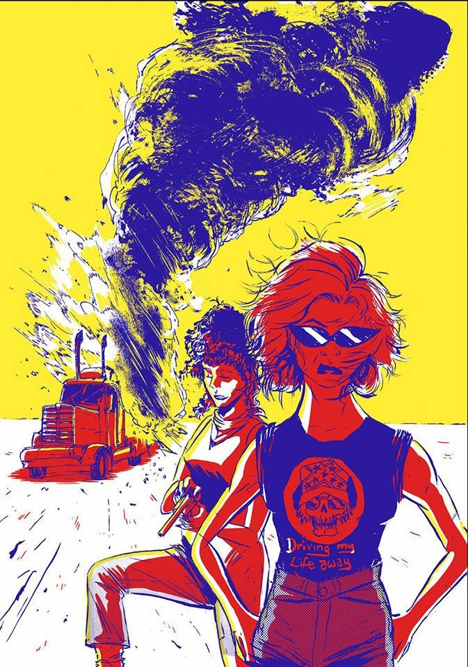 Image of THELMA & LOUISE Print