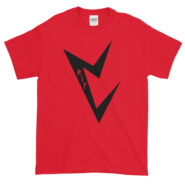 Image of VRIL logo red shirt