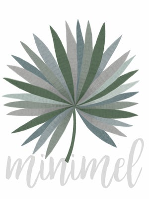 Image of Affiche Palm A3 / Palm A3 poster -50%