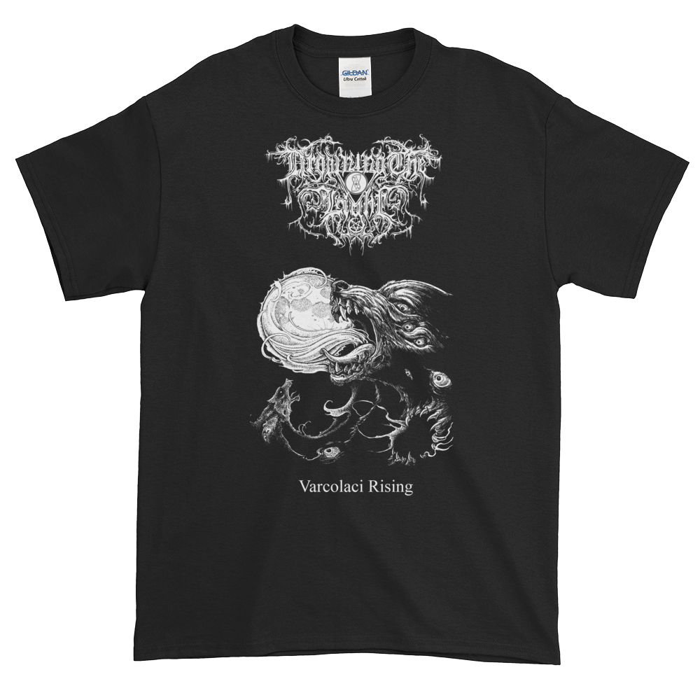 "Image of Drowning the Light - ""Varcolaci Rising"" shirt"