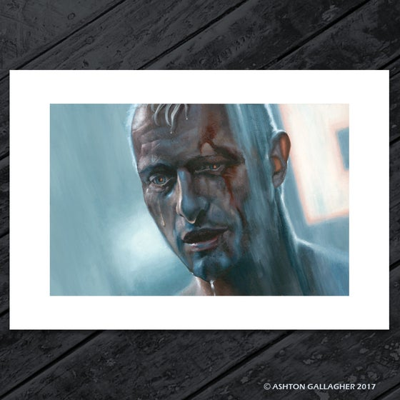 "Image of "". . . LIKE TEARS in the RAIN"" - ARTIST PROOF"