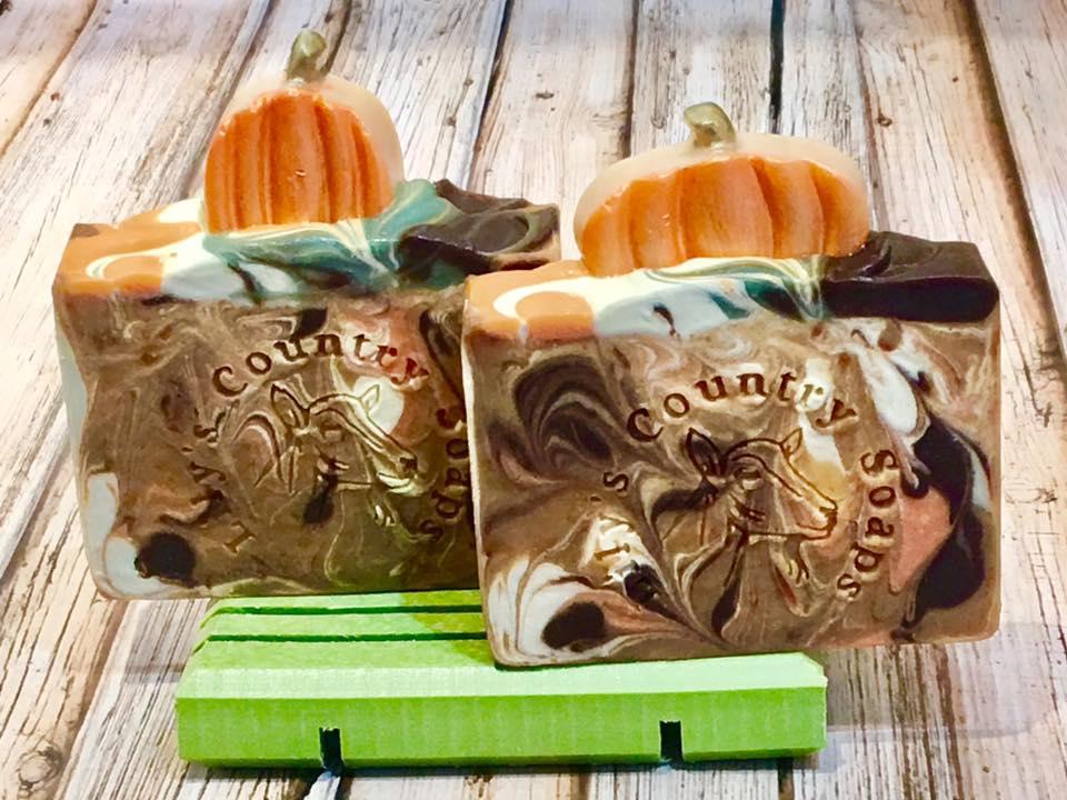 Image of Pumpkin Spice Goat Milk Soap