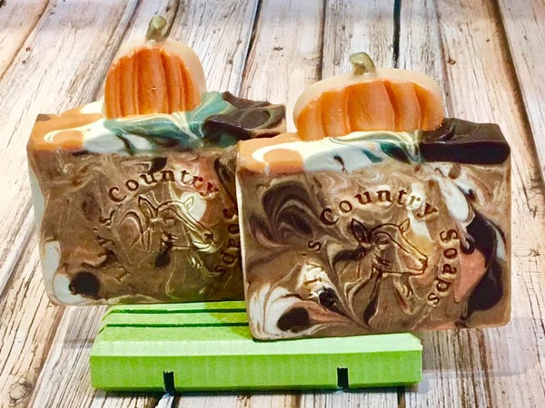 Image of Pumpkin Spice Goat Milk Soap