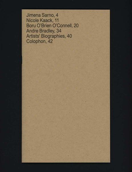 Image of Enveloped: Andre Ardibe Bradley, Boru O'Brien O'Connell, and Jimena Sarno.