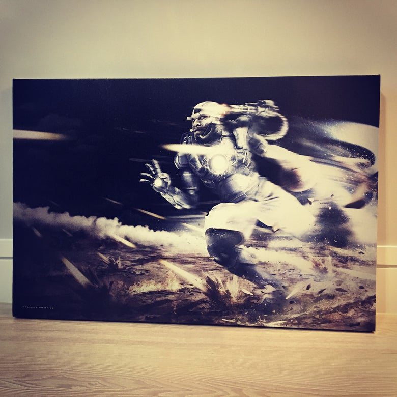 "Image of ""WAR MACHINE"" CANVAS"