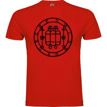 Image of Cuchillo de Fuego - Camiseta Sello Roja