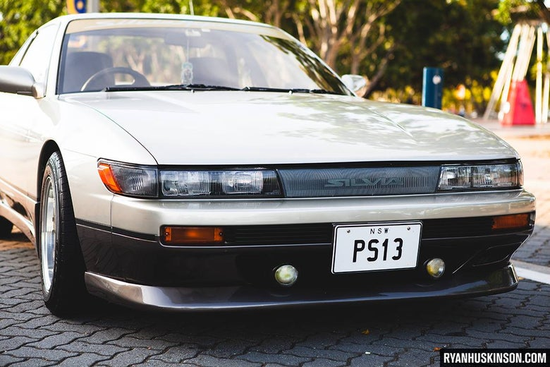 Image of s13 Silvia OEM Style Front Lip Spoiler