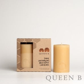 Image of Queen B - 8cm Solid Pillar Candles