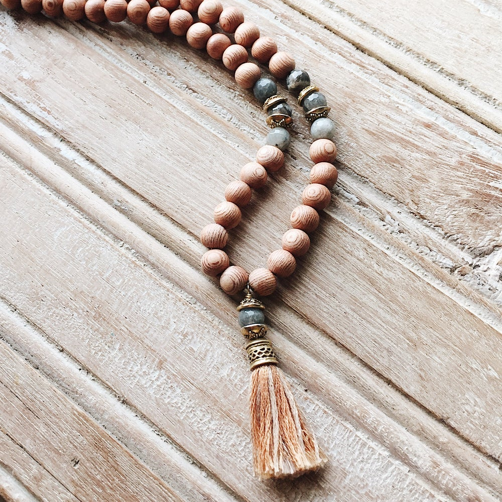 Image of Tassel Mala Necklace