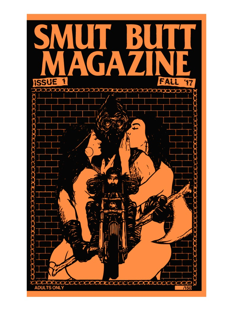Image of SMUT BUTT MAGAZINE ISSUE 1 DIGITAL DOWNLOAD