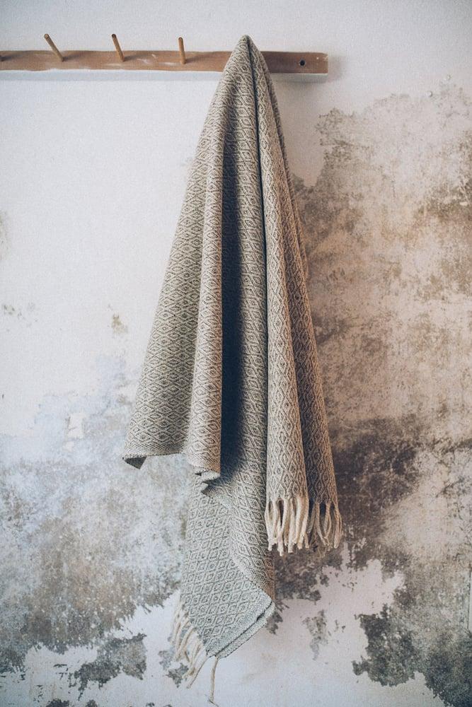 Image of Woollen Throw Rug