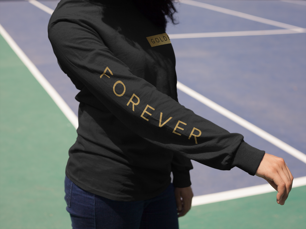 Image of Forever Golden Long Sleeve Tee