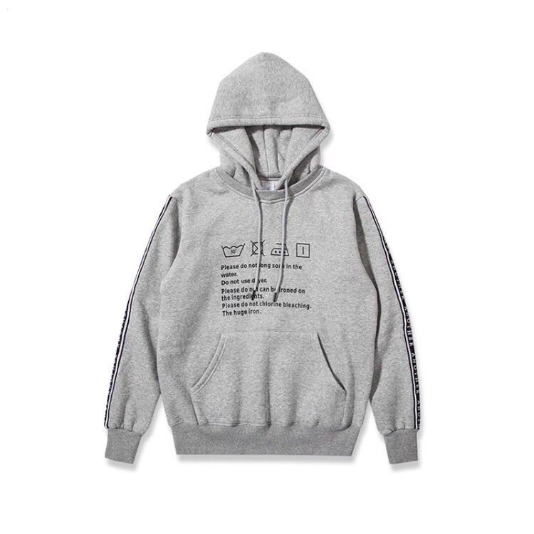 Image of Wash Description Hoodie
