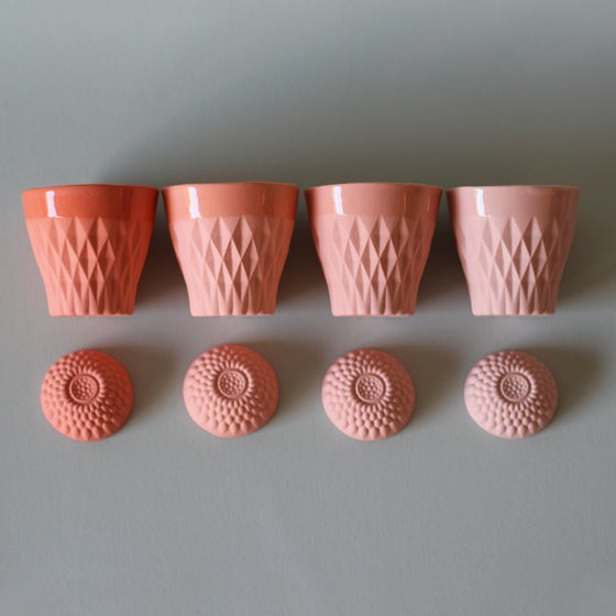 Image of CRYSTAL PALACE cup X4 Corail Collection