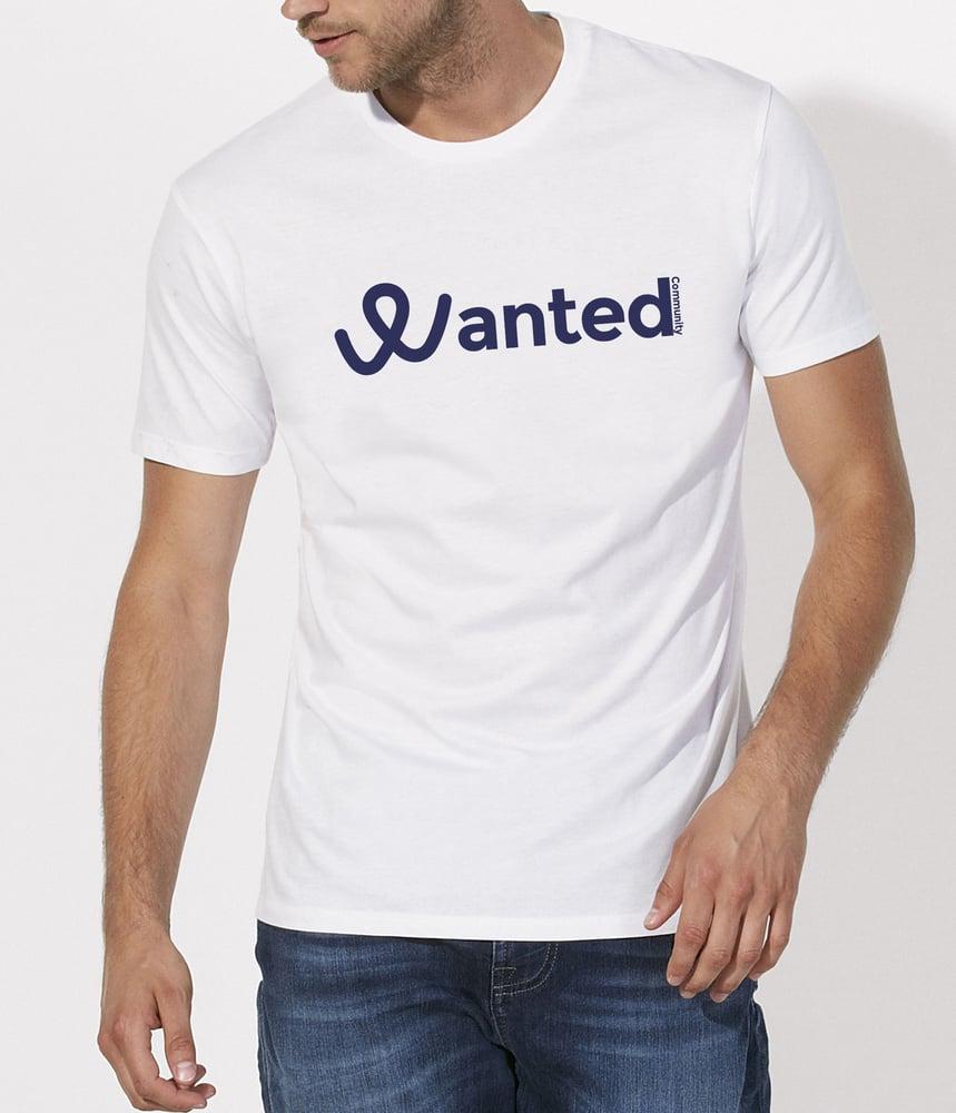 Image of Le Classique Wanted Community (White T-Shirt)