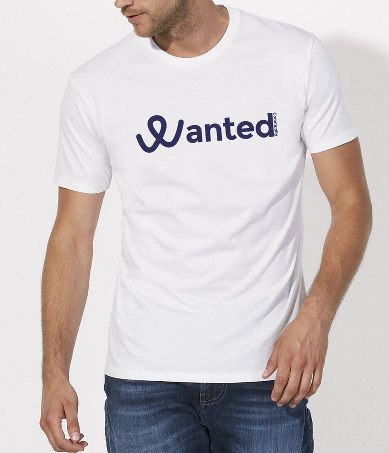 Image of Le Classique Wanted Community (White T-Shirt)