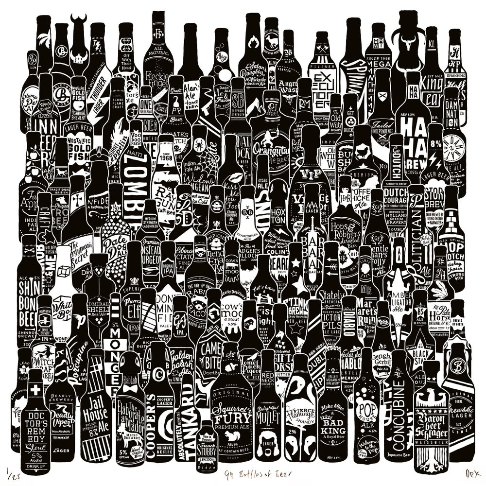 Image of 99 Bottles (Square, 2017)