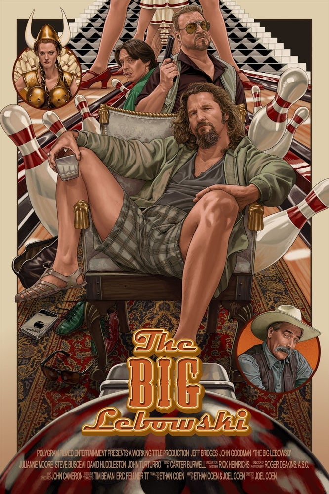 Image of THE BIG LEBOWSKI BY JUAN CARLOS RUIZ BURGOS