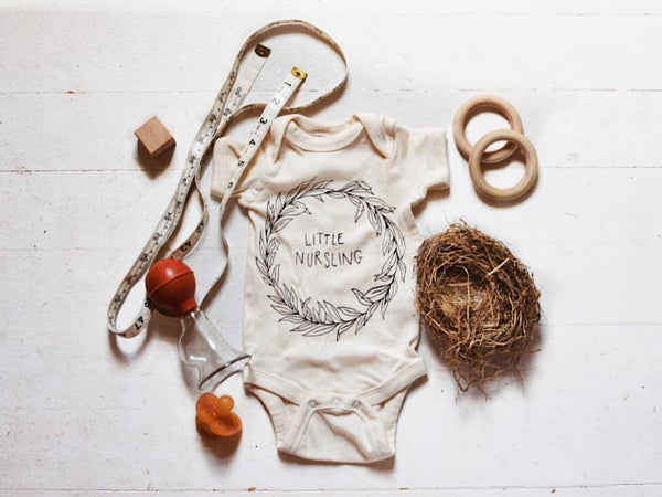 Image of Little Nursling Onesie in natural