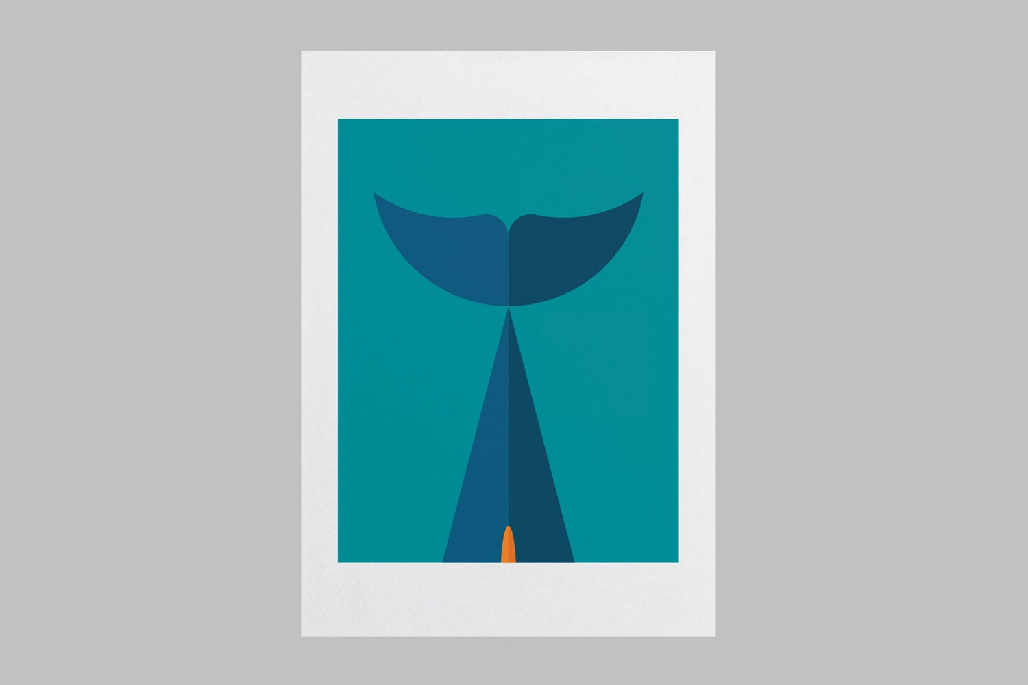Image of Dolphin Wall Art Print
