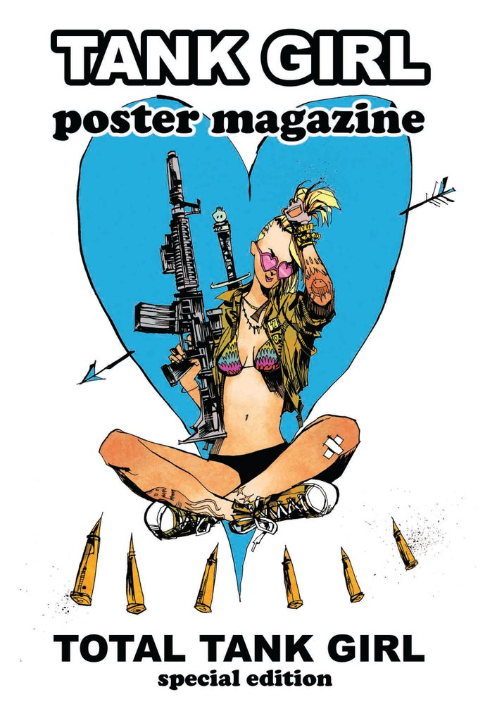 Image of Total Tank Girl Poster Magazine