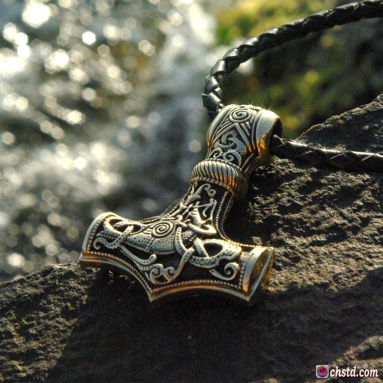 Image of THOR'S HAMMER : MJOLNIR - Hammer of Thor - HANDMADE