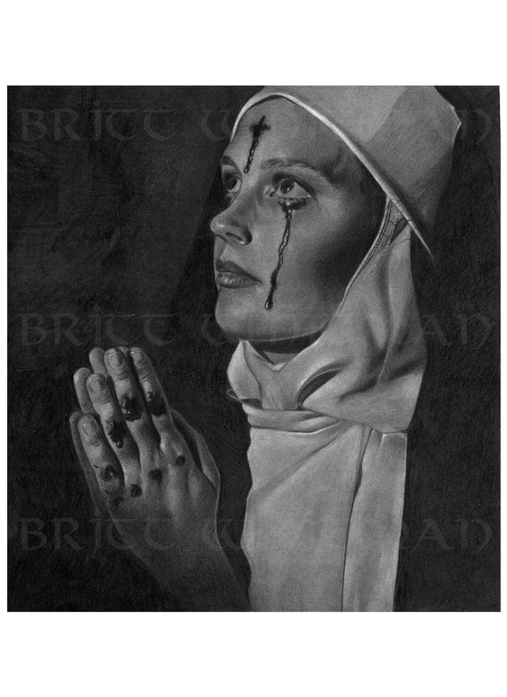 "Image of Britt Whitman ""Nun"""