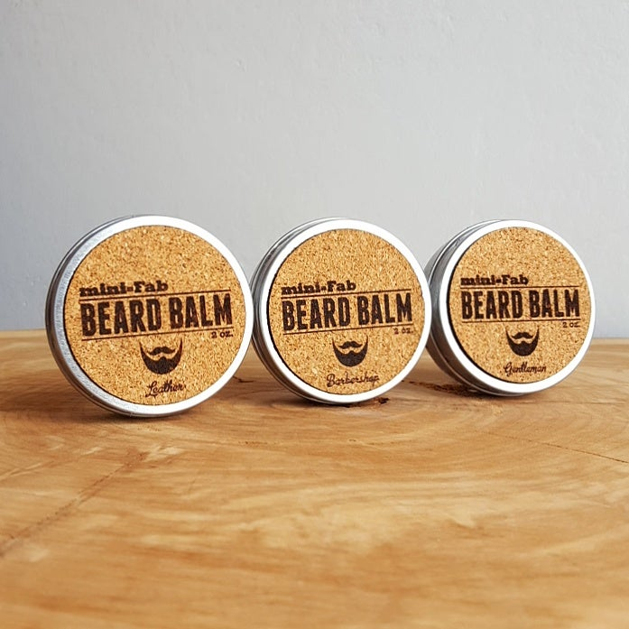 Image of Beard Balm - Manly Fragrance - All Natural Organic Handmade in Small Batches 2 oz.