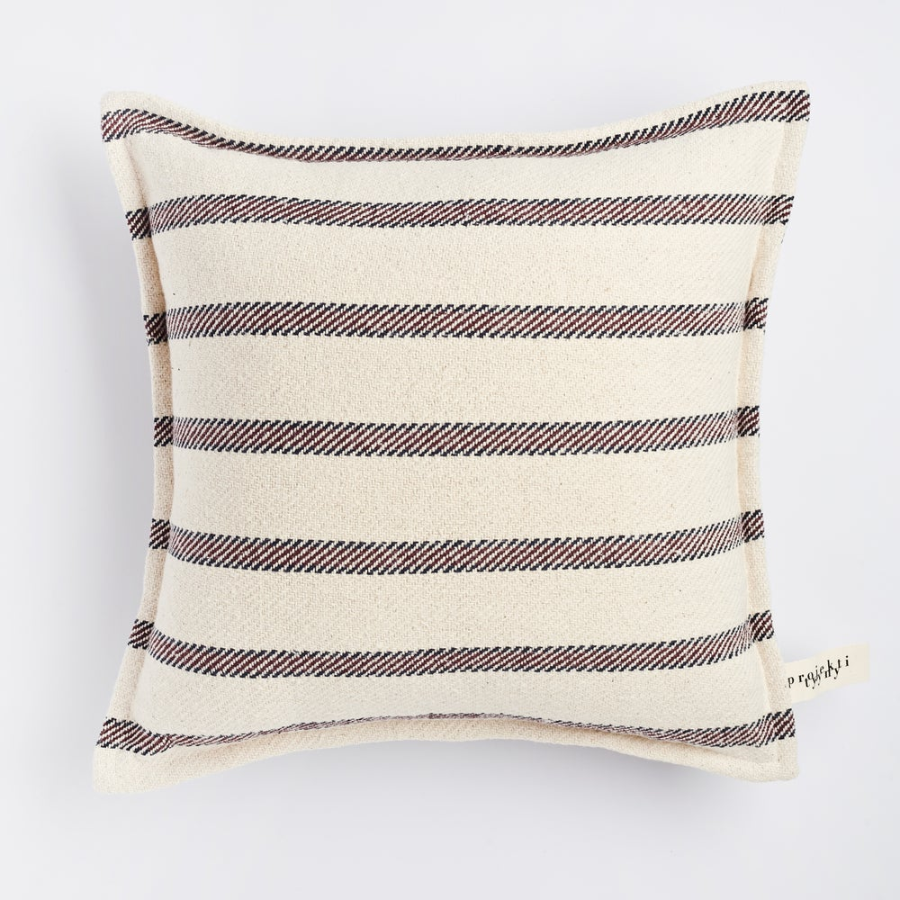 Image of P u r j e cushion, vanilla