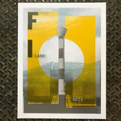 Image of Future Islands Chicago 2017 poster