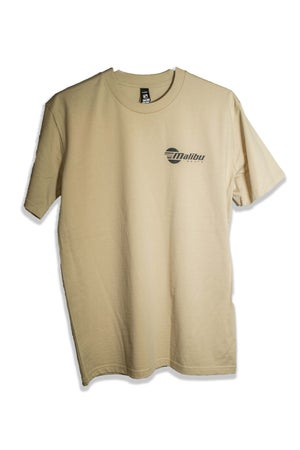 Image of Malibu Unisex T-Shirt - Tan
