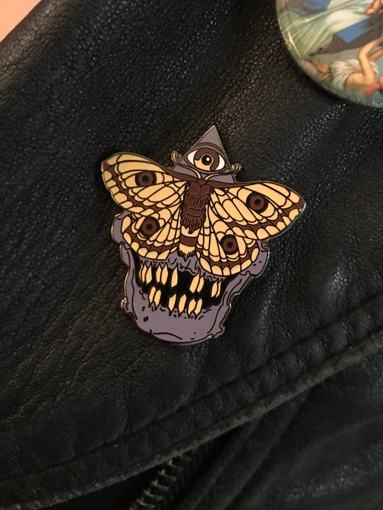Image of Jess Brown Enamel Pin