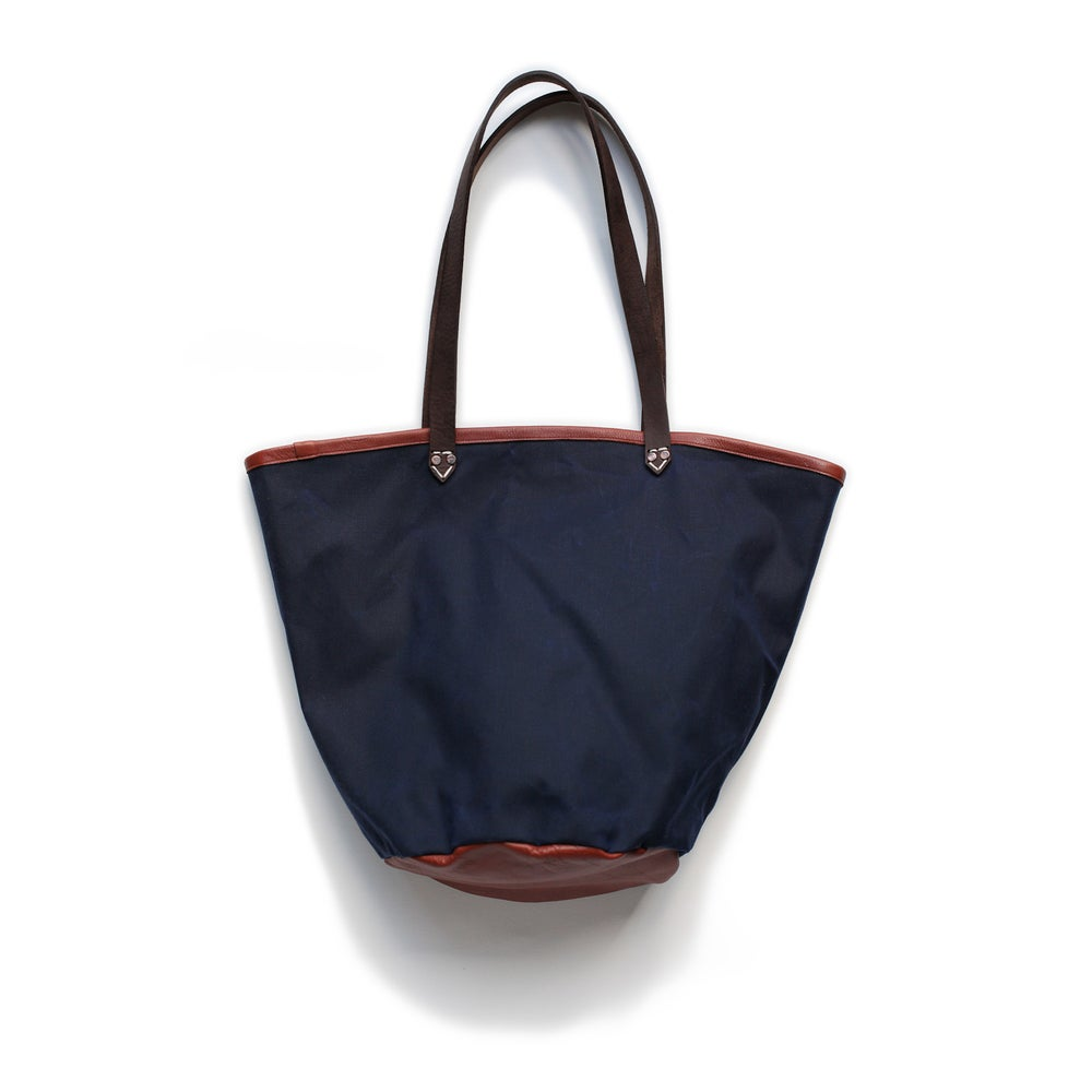 Image of BUCKET BAG | INDIGO
