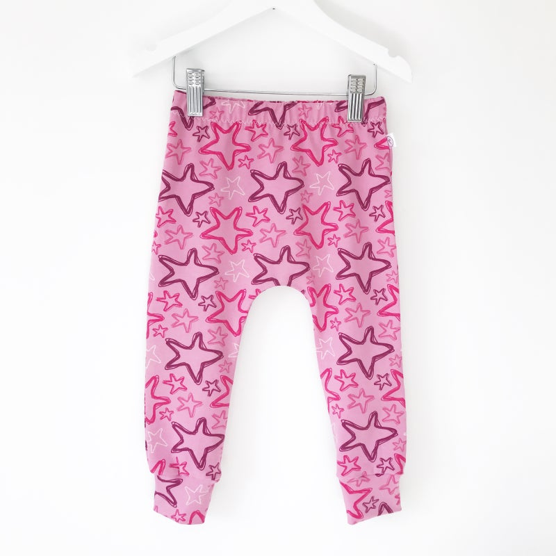 Image of Pink Star Leggings